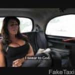 imagen video porno dentro de un taxi con una morena