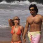 imagen paseando con mi novia por la playa de miami