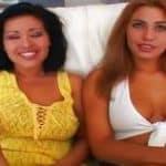 imagen casting con Misty Mendez y Melanie Jagger