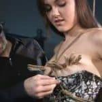 imagen videos bdsm con pinzas en las tetas de sasha