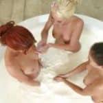 imagen ogia lesbica con tres amigas tias buenas