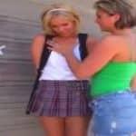 imagen La colegialita Sasha Knox aprende a respetar