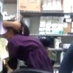 imagen Graba a su compañera de trabajo dandole mamadas
